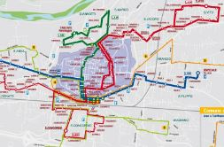 Thumbnail image of Lucca bus map