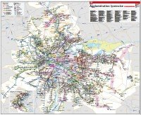 transport map: Lyon and region