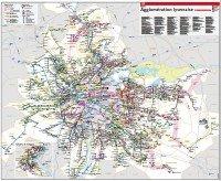 transport map: Lyon and suburbs
