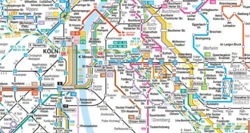 Cologne transport maps (image link)
